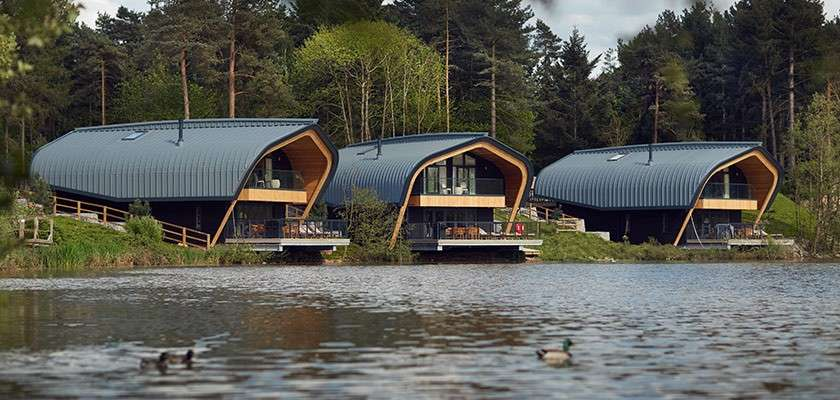 Waterside Lodges at Elveden Forest
