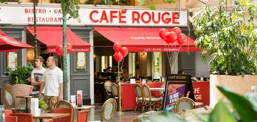 Cafe Rouge at Elveden Forest