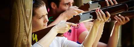 Laser Clay Shoot Out | Team building and activities