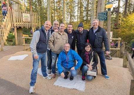Selecta UK on a team building day at Longleat Forest